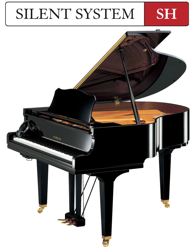yamaha gc1 sh 5 39 3 silent grand piano yamaha gc1 silent. Black Bedroom Furniture Sets. Home Design Ideas